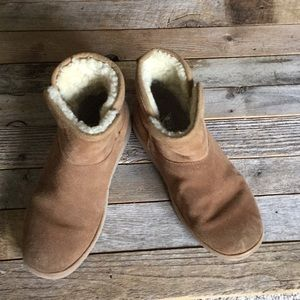 Girls Uggs ankle boots
